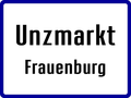 Unzmarkt Frauenburg